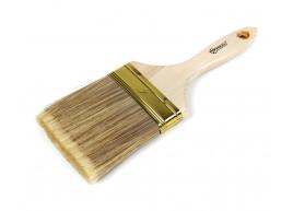 фото Кисть малярная Polax флейцевая деревянная ручка искусственный  ворс