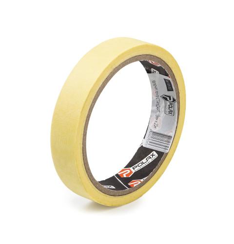 фото Малярная клейкая лента Polax Standart yellow 19 мм х 20 м (101-013)
