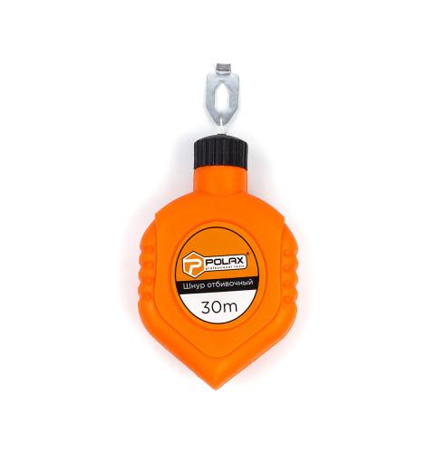 фото Шнур Polax разметочный отбивочный троссировочный 30 м (30-002)