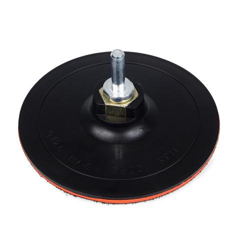 фото Крепежная платформа Polax для наждачных кругов, диаметр 125 мм, высота платформы 2 мм (54-043)