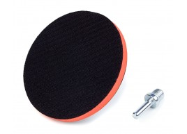 фото Крепежная платформа Polax для наждачных кругов, диаметр 125 мм, высота платформы 10 мм (54-044)