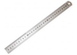 фото Линейка металлическая Polax 30 см (38-010)