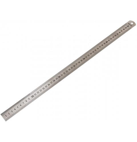 фото Линейка металлическая Polax 50 см (38-011)