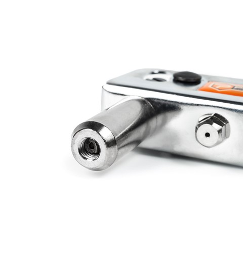 фото Пистолет заклепочный заклепочник ручной Polax 2.4-4.8 мм хромированный (37-001)
