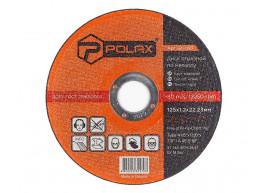 фото Диск Polax абразивный отрезной по металлу 41 14А 125х1,2х22,23 (54-097)