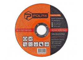 фото Диск Polax абразивный отрезной по металлу 41 14А 125х1,6х22,23 (54-098)