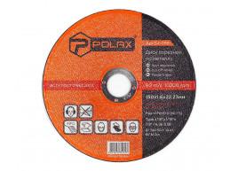 фото Диск Polax абразивный отрезной по металлу 41 14А 150х1,6х22,23 (54-099)