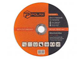 фото Диск Polax абразивный отрезной по металлу 41 14А 180х2х22,23 (54-101)