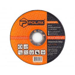 фото Диск Polax абразивный шлифовальный по металлу 1 14А 125х6х22,23 (54-104)