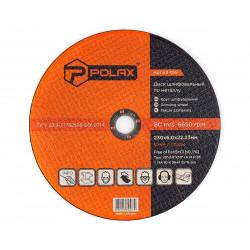 фото Диск Polax абразивный шлифовальный по металлу 1 14А 230х6х22,23 (54-105)