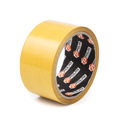 фото Скотч клейкая лента Polax двусторонняя на полипропиленовой основе  50 мм х 10 м (101-002)