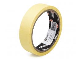 фото Малярная клейкая лента Polax Standart yellow 25 мм х 20 м (101-014)