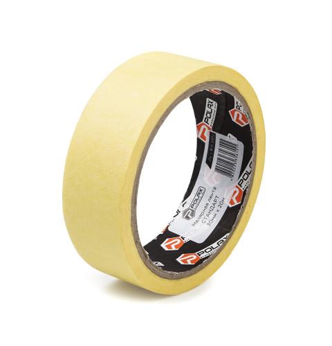 фото Малярная клейкая лента Polax Standart yellow 30 мм х 20 м (101-015)