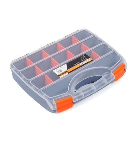 фото Органайзер пластиковый хозяйственный для хранения Polax 15 секций 320х255х60 мм (01-009)