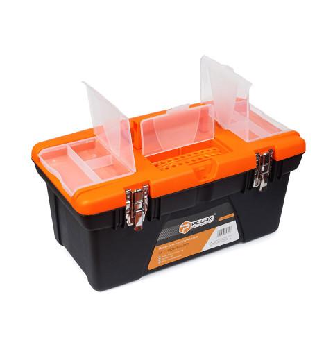 фото Комплект ящиков для инструмента пластиковых с металлическим замком Polax (01-014)