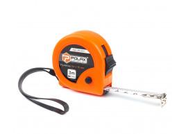 фото Рулетка Polax измерительная строительная 2 фиксатора 3*16 мм (29-001)