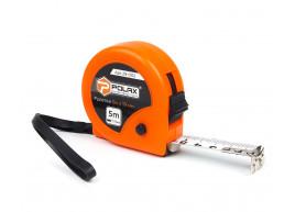 фото Рулетка Polax измерительная строительная 2 фиксатора 5*19 мм (29-002)