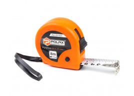 фото Рулетка Polax измерительная строительная 2 фиксатора 8*25 мм (29-003)