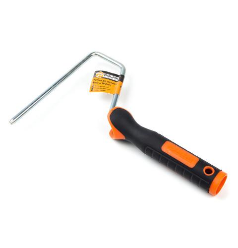 фото Ручка для валика Polax двухкомпонентная Premium 8 Х 180 мм (07-007)