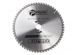 фото Диск пильный Polax по дереву с твердосплавными напайками 300x32.0/30.0, 60Т (54-151)