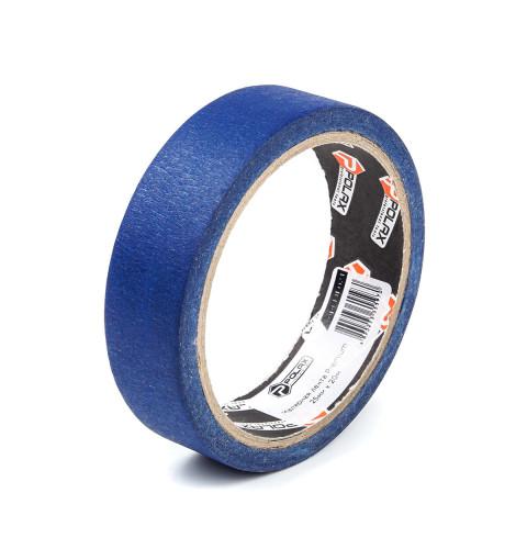 фото Малярная клейкая лента Polax Premium для наружных работ blue 25 мм х 20 м (101-024)