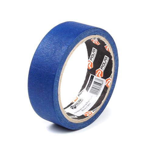 фото Малярная клейкая лента Polax Premium для наружных работ blue 30 мм х 20 м (101-025)