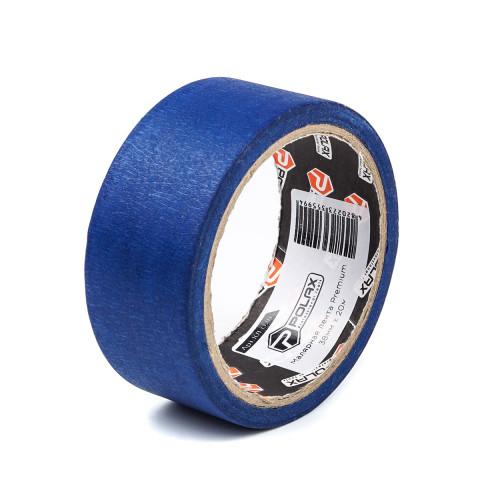 фото Малярная клейкая лента Polax Premium для наружных работ blue 38 мм х 20 м (101-026)
