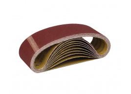 фото Шлифовальная лента бесконечная Polax для ленточных шлифовальных машин 75 * 533 мм зерно К100 (54-018)