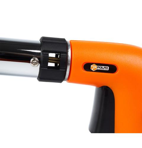 фото Газовая горелка с пьезоподжигом туристическая (для пайки) Polax 1,3 kW, 1300 °C (32-016)