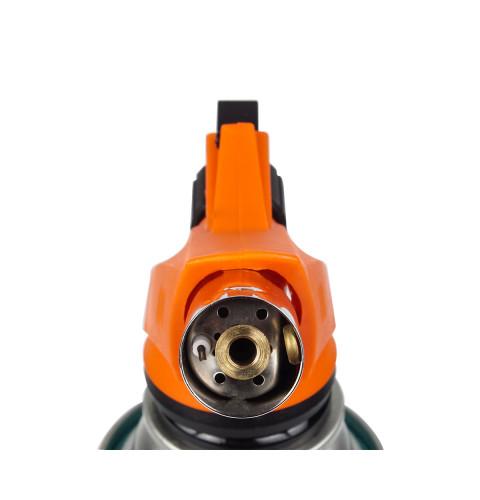 фото Газовая горелка с пьезоподжигом туристическая (для пайки) Polax 1,65 kW, 1300 °C (32-017)