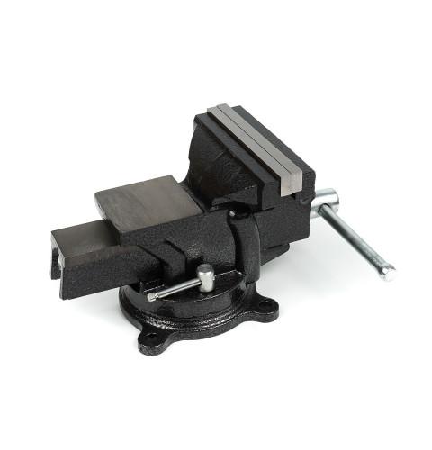 фото Тиски слесарные Polax настольные поворотные 125 мм (25-100)