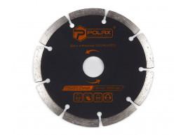 фото Диск алмазный сегментированный Polax 125x7x2.2x22.23, 25% (54-125)