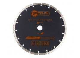 фото Диск алмазный сегментированный Polax 230x7x2.8x22.23, 25% (54-127)