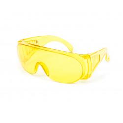 фото Очки защитные yellow (53-013)