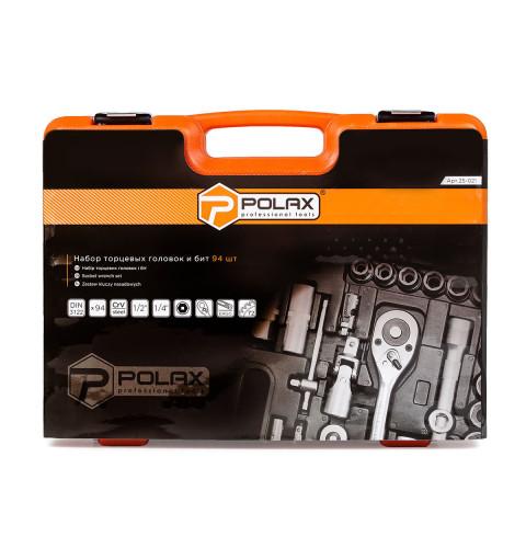 фото Набор инструментов Polax 94 предмета (25-021)