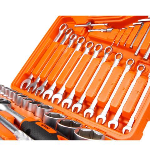 фото Набор инструмента Polax 77 предметов (25-071)
