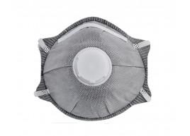 фото Респираторы угольные с клапаном, 2 шт. Polax (53-011)