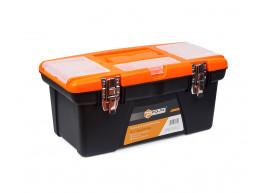 фото Ящик для инструментов пластиковый металлический замок 16 Polax (01-013)