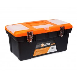 фото Ящик для инструментов пластиковый металлический замок 19 Polax (01-0144)