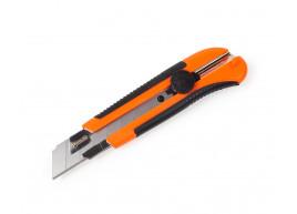 фото Нож строительный Polax c выдвижным лезвием усиленный 25 мм (23-009)