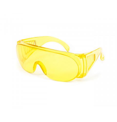 фото Очки защитные из поликарбоната желтые (10-169)