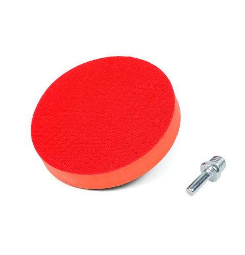 фото Крепежная платформа Polax для наждачных кругов, диаметр 125 мм, высота платформы 20 мм (54-045)