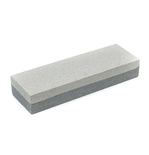 фото Точильный камень Polax двухсторонний К200/К100, 50х50х25 мм (28-002)
