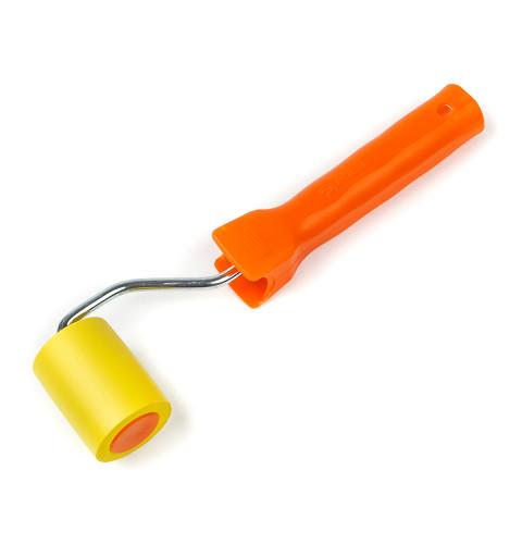 фото Валик прижимной Polax резиновый с ручкой  6 х 50 мм (21-001)