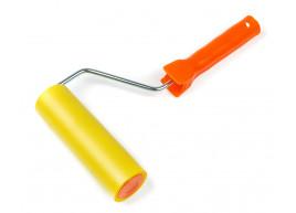фото Валик прижимной Polax резиновый с ручкой  6 х 150 мм (21-002)