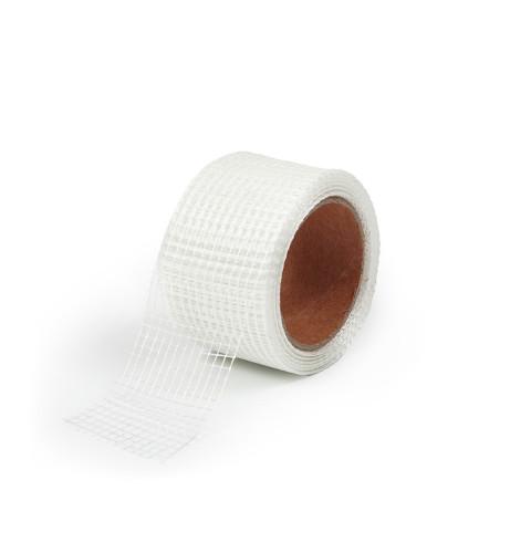 фото Лента серпянка Polax армирующая для стыков на клеющей основе 45 мм х 10 м (100-146)