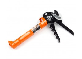 фото Пистолет для герметика полузакрытый с трещоткой Polax (26-006)