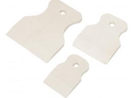 фото Набор шпателей резиновых для силикона 40, 60, 80 мм в пакете (100-075)