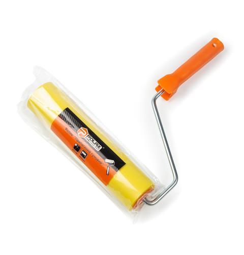 фото Валик прижимной Polax резиновый с ручкой  8 х 250 мм (21-004)