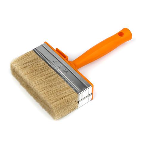 фото Кисть-макловица Polax пластиковая ручка 40 х 140 мм (12-004)